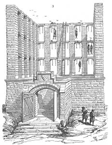 Fourches patibulaires, Violet-le-Duc, Dictionnaire raisonné de l'architecture française, du XI au XVI siècle, Paris, 1861, t. V, p. 561.
